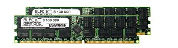 Picture of 2GB Kit(2X1GB) DDR 333 (PC-2700) ECC Registered Memory 184-pin (2Rx4)