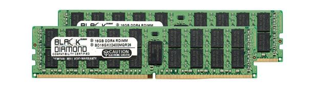 Picture of 32GB Kit (2x16GB) DDR4 2400 ECC Registered Memory 288-pin (2Rx4)