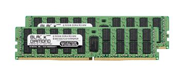 Picture of 64GB Kit (2x32GB) (2Rx4) DDR4 2133 ECC Registered Memory 288-pin