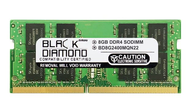 Picture of 8GB DDR4 2400 SODIMM Memory 260-pin (2Rx8)