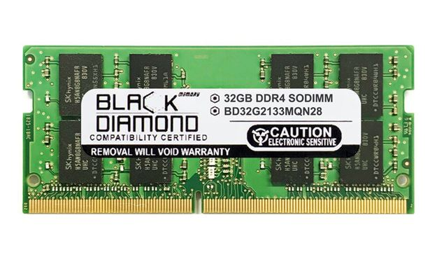 Picture of 32GB DDR4 2133 SODIMM Memory 260-pin (2Rx8)