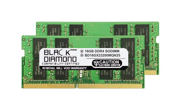 Picture of 32GB Kit(2X16GB) DDR4 3200 SODIMM Memory 260-pin (2Rx8)