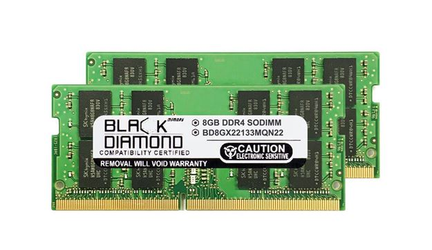 Picture of 16GB Kit (2x8GB) DDR4 2133 SODIMM Memory 260-pin (2Rx8)