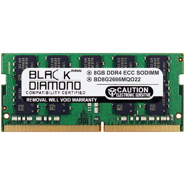 Picture of 8GB DDR4 2666 ECC SODIMM Memory 260-pin (2Rx8)
