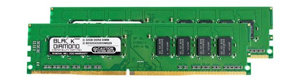 Picture of 64GB Kit (2X32GB) DDR4 2933 Memory 288-pin (2Rx8)